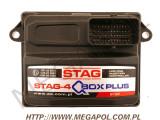 .Wtrysk STAG Q-Box Plus  sterownik  4cylindry