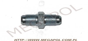 AKCESORIA - Nyple - Nypel M10x1mm/10x1mm/otwór 6mm/stal - Male Connector