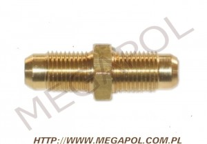 AKCESORIA - Nyple - Nypel M12x1/M12x1mm/46mm do Gold